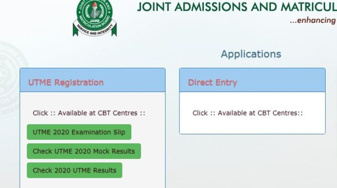 JAMB Result 2020 UTME Released [Official]