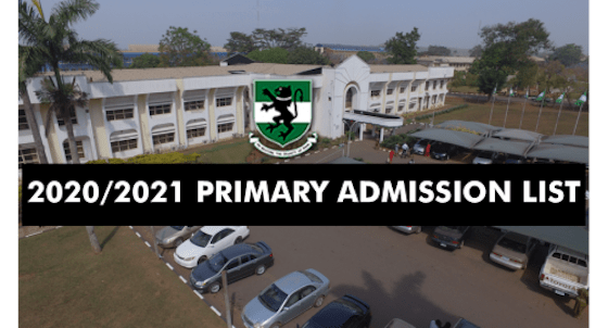 UNN Admission List 2020/2021 Out – Check Primary List Here