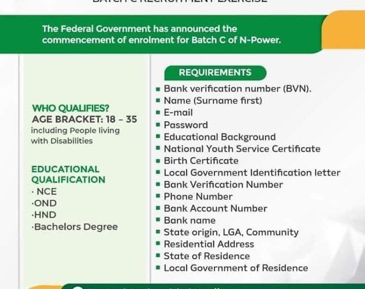 npower 2020 recruitment requirements