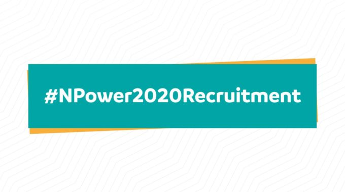 npower.fmhds.gov.ng registration portal now open for 2020 Batch C N-Power Recruitment