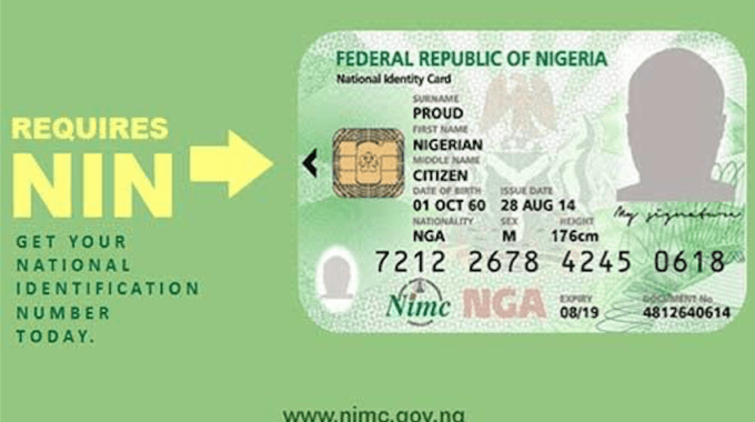 NIN Registration – How To Apply for National Identification Number