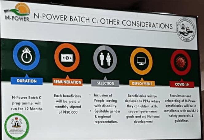 Npower Batch C Shortlisted Candidates 2021